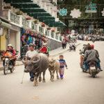 Sapa town is walkable