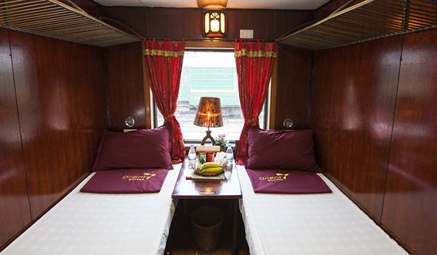 VIP 2 Berth Cabin - Orient Express Train Sapa